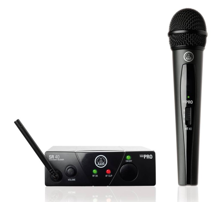 AKG WMS40 Mini Vocal Set BD US25A (537.5МГц) вокальная радиосистема