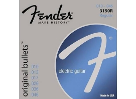 Fender STRINGS NEW ORIGINAL BULLET 3150R PURE NKL BLT END 10-46 струны для электрогитары, никель