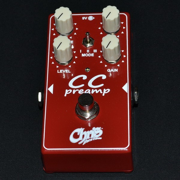 Chris Custom CC-preamp Overdrive/Distortion педаль