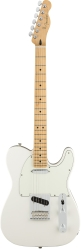 Fender PLAYER TELE MN PWT электрогитара, цвет белый