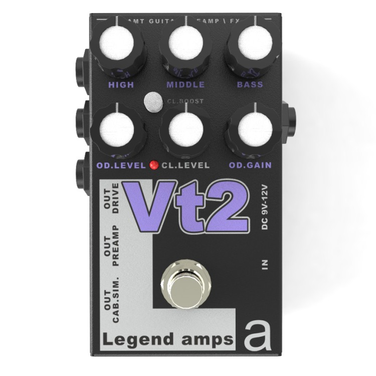 AMT Vt-2 Legend amps 2 Guitar preamp (VHT) педаль