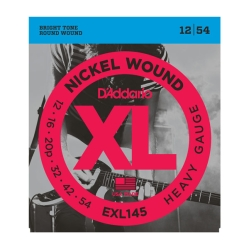 D`Addario EXL 145 XL NICKEL WOUND Струны для электрогитары Heavy, 12-54