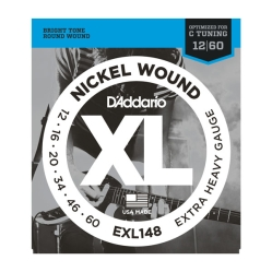 D`Addario EXL 148  XL NICKEL WOUND струны для электрогитары Extra Heavy 12-60