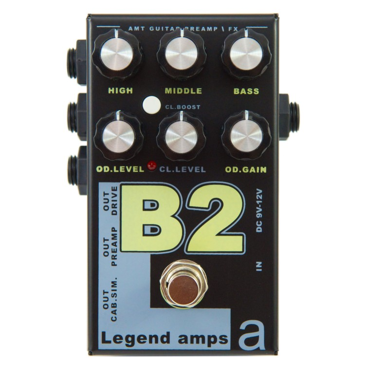 AMT B-2 Legend amps 2 Guitar preamp (BG-Sharp) Педаль