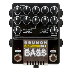 AMT BC-1 JFET Bass guitar preampBass Crunch педаль