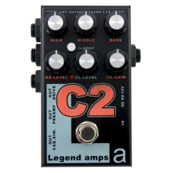 AMT C-2 Legend amps 2 Guitar preamp (Cornford) педаль